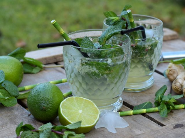 Karola's Kitchen - virgin mojito met gember