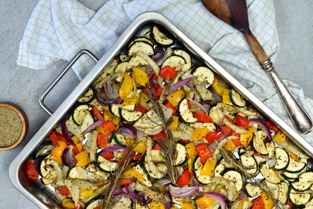 Karola's Kitchen - Kleurrijke geroosterde groenten