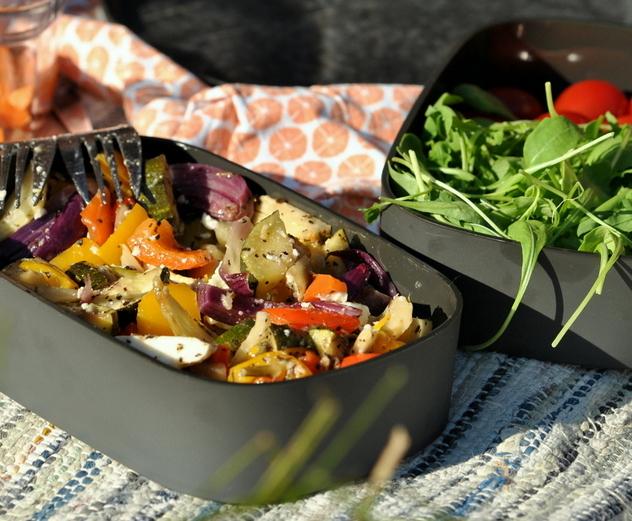 Karola's Kitchen - Kleurrijke groenten met feta