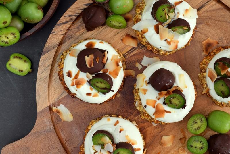 Karola's Kitchen - Havergebakje met kiwibes