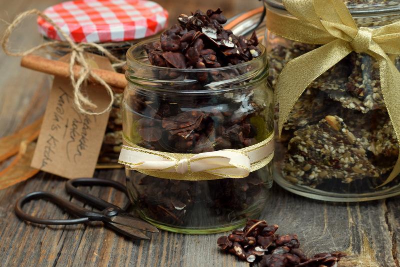 Karola's Kitchen - Eetbare cadeautjes - Chocolade rockies