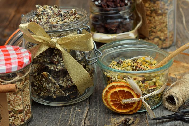 Karola's Kitchen - Eetbare cadeautjes - Zadencrackers en zen thee