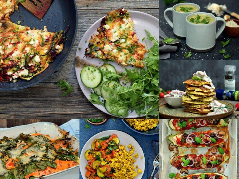 Karola's Kitchen - 10 x genieten van het courgetteseizoen