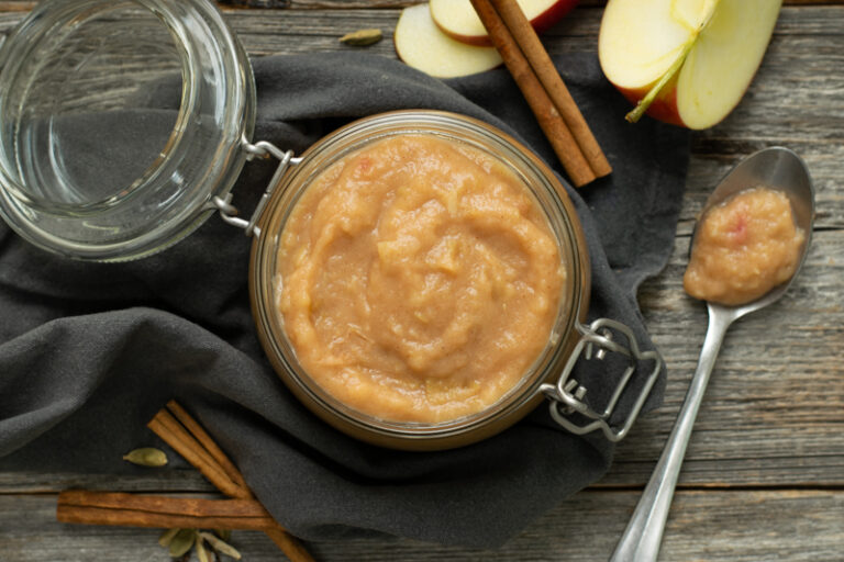 Karola's Kitchen - Suikervrije kruidige appelmoes