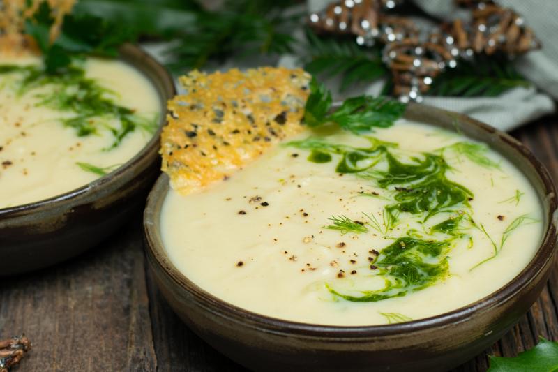 Karola's Kitchen - Bloemkoolsoep met mosterd