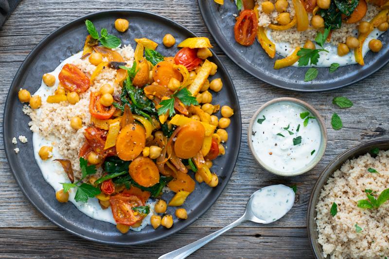 Karola's Kitchen - Couscous met currygroenten uit de oven