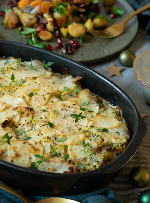 Karola's Kitchen - Aardappel-preigratin
